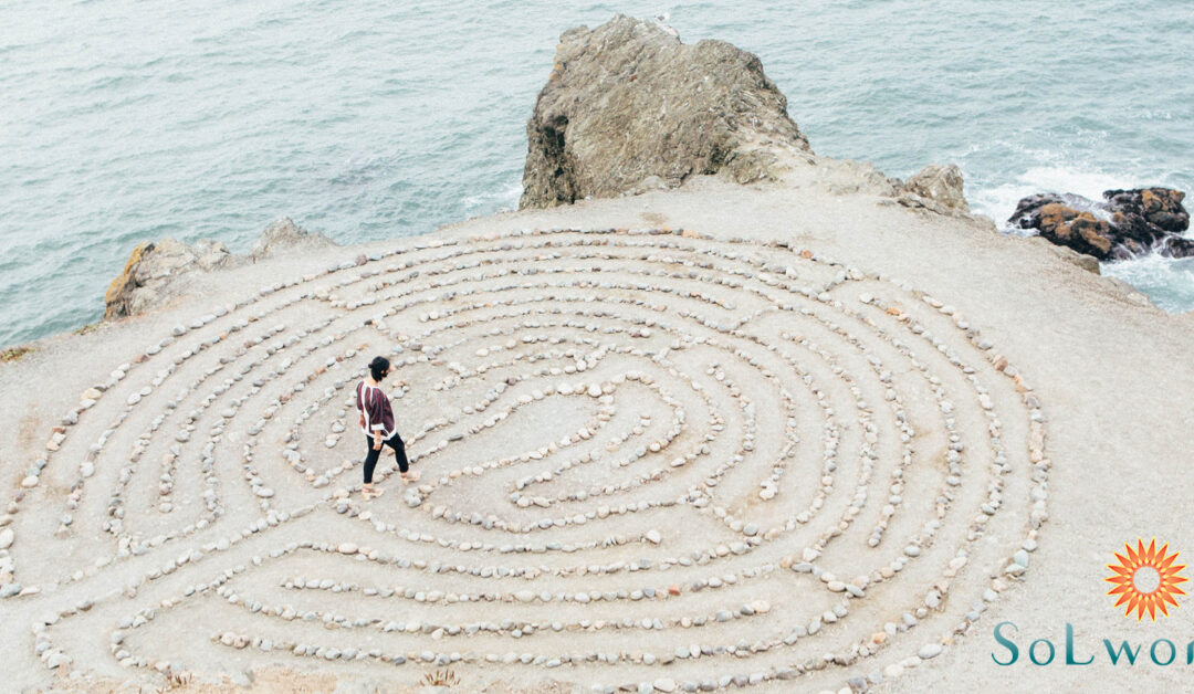 How to 'Walk Off' the Anxiety with Labyrinths